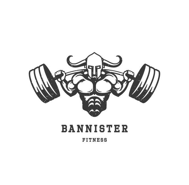 BannisterFitness_Logo1 Perth Graphic Design Web Design restaurant bar café