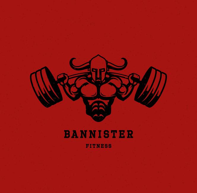 BannisterFitness_Logo2 Perth Graphic Design Web Design restaurant bar café